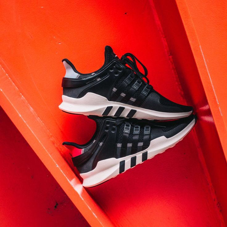 Adidas Women's EQT Racing 91/16 W (Black & Turbo) End