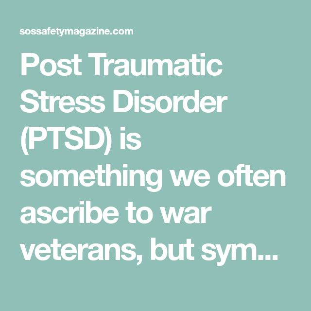 ptsd is not a disorder essay Post-traumatic stress disorder, or ptsd, is the psychiatric disorder that can result from the experience or witnessing of traumatic or life-threatening events such as terrorist attack, violent crime and abuse, military combat, natural disasters, serious accidents or violent personal assaults.