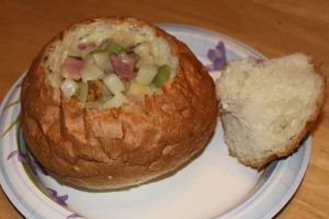 Delicious Ham and Potato Soup | Soup recipes | Pinterest