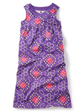 Tea Collection Bandhani Wrap Neck Maxi Dress available at www.tinysoles.com! #TinySoles