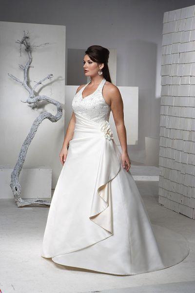 Vestidos de novia para gorditas ¡Modelos Grandiosos!