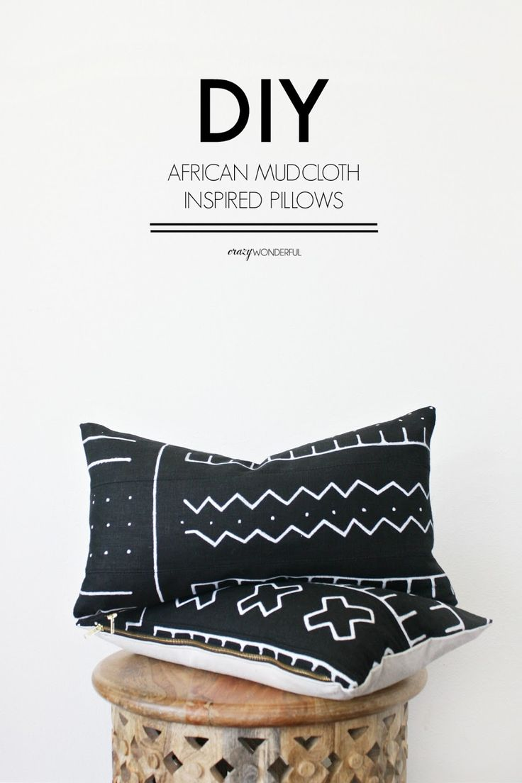 You may remember I did some DIY African mudcloth inspired pillows for our living room . You can check those out here . Well, I am still...