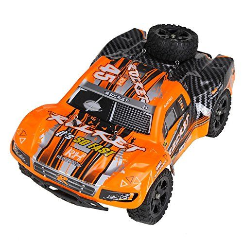 #Cheerwing 1:16 2.4Ghz #4WD #RC #Truck #High #Speed Off-road #Remote #Control #Car #Short Course #Truck 30MPH #High Speed: This Short-Course #truck toy #car designed with durable, strong and powerful components to provide you the realistic racing and off-road game experience. It has the #speed of 30 MPH powered by a 390 brushed motor. This will be a great mini off-road toy #car specially made outdoors entertainment at the park, beach and camping activities. Strong Shockproof