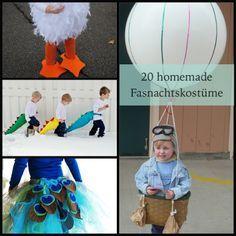 20 Homemade Fasnachtskostüme