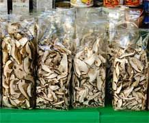 Dried porcini mushrooms for sale