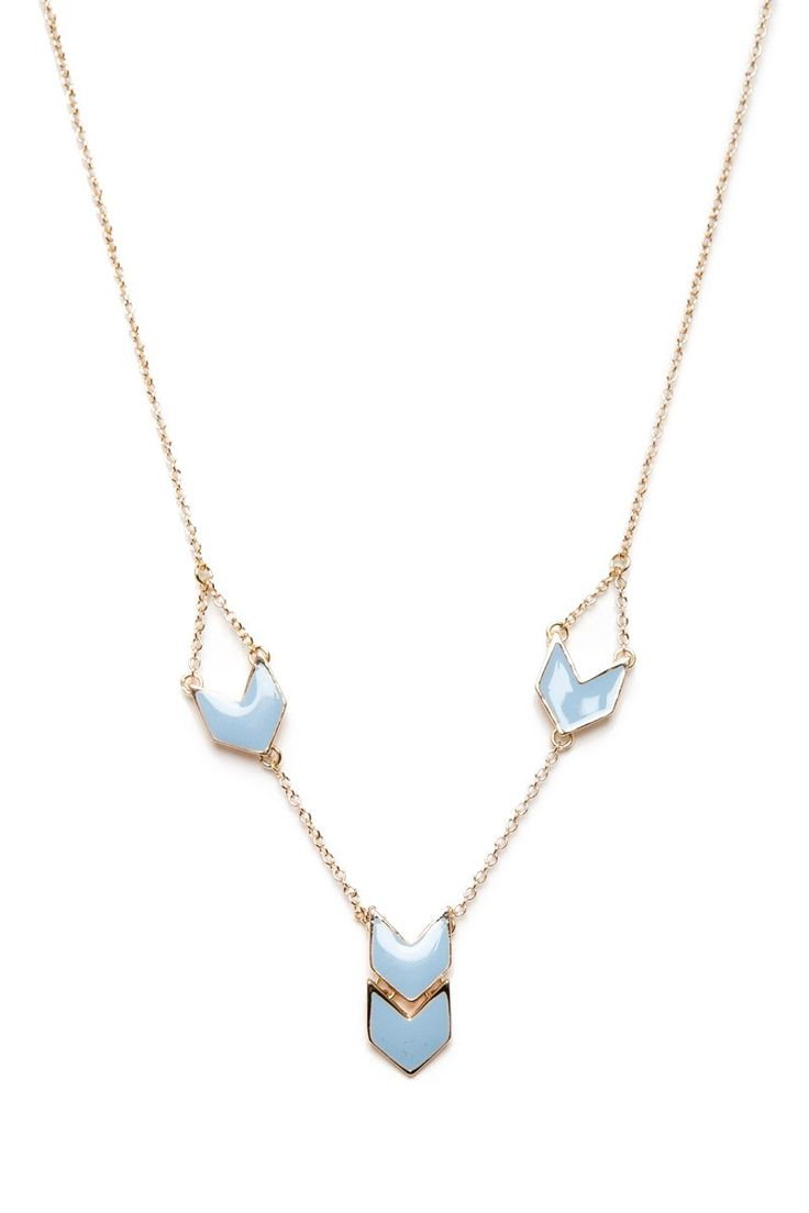 ShopSosie Style : Towards Necklace in Periwinkle