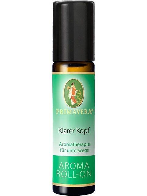 Parfume Roll-on - Klar i hovedet med aromaterapi. Pebermynte og Rosmarin.