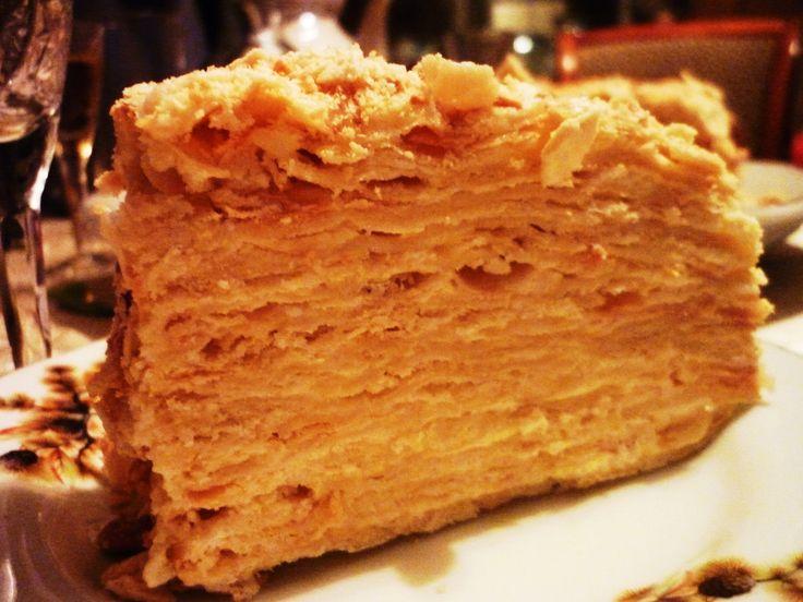Торт Наполеон классический  (мой любимый вариант) рецепт с фотографиями