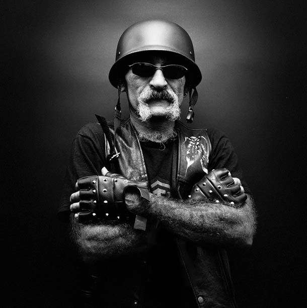 Portraits of Hells Angels by Nicolas Auproux