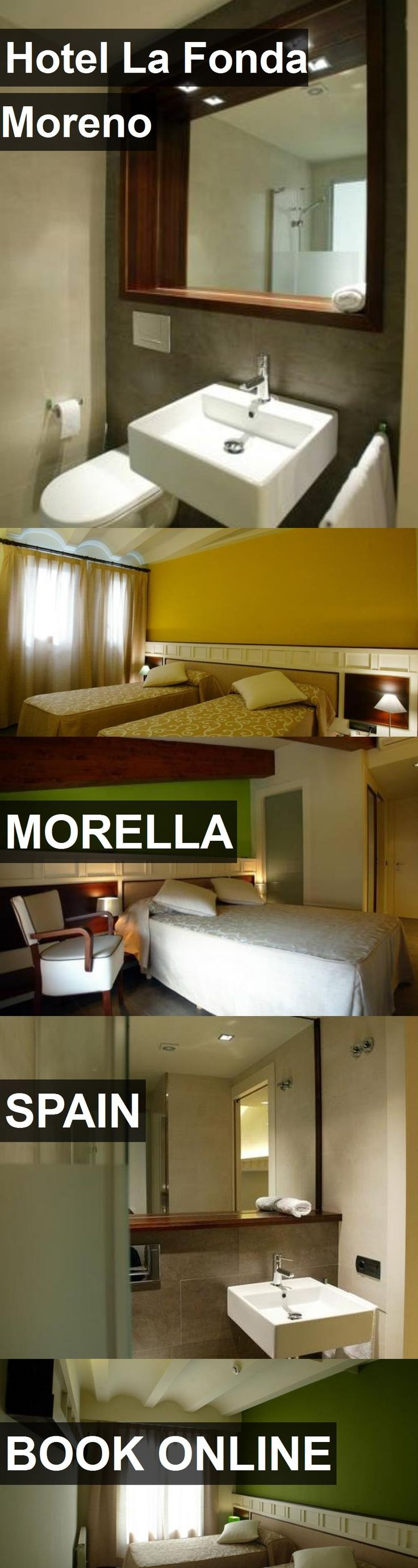 Hotel La Fonda Moreno in Morella, Spain. For more information, photos, reviews and best prices please follow the link. #Spain #Morella #travel #vacation #hotel