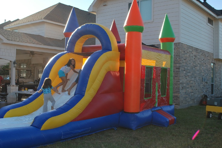 Welcome to Alamo Party Rental, Rent bounce houses, water slides