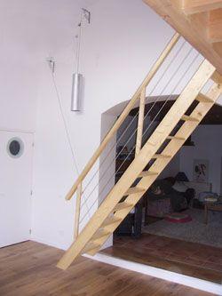 1000 id es sur le th me echelle escamotable sur pinterest. Black Bedroom Furniture Sets. Home Design Ideas