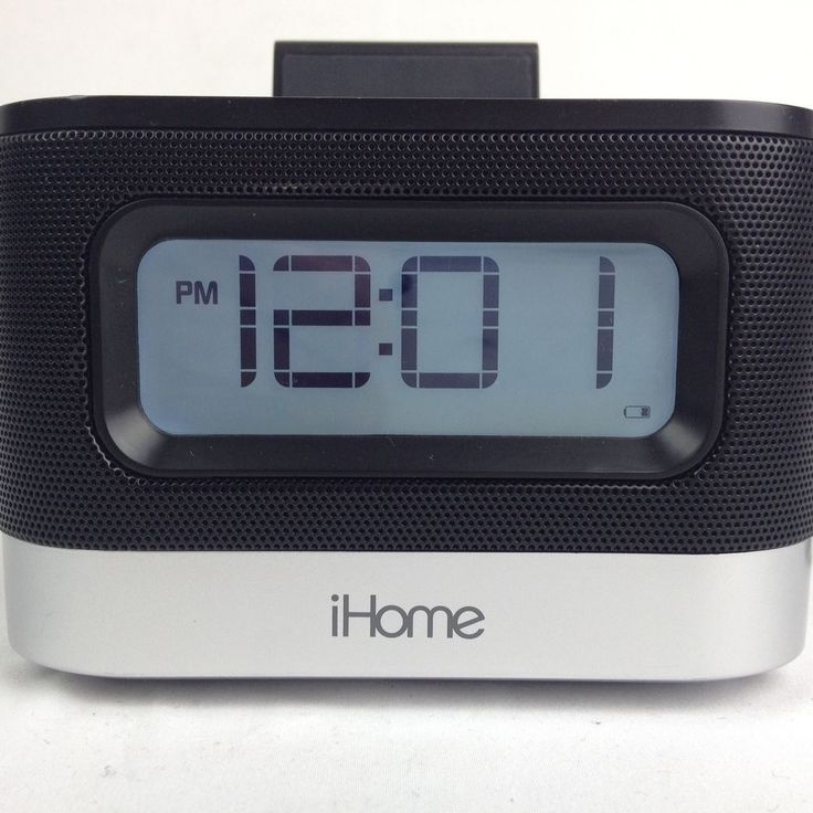 iHome iPL10 Stereo FM Clock Radio With Lightning Dock For iPhone X 5 6 7 8 E   #iHome