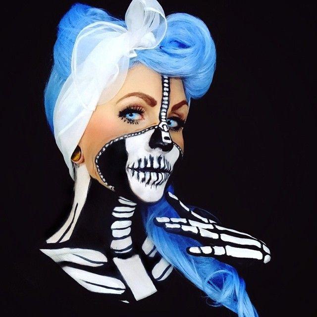 """""""Zip & bones"""" by Corie Willet aka Twistinbangs"""