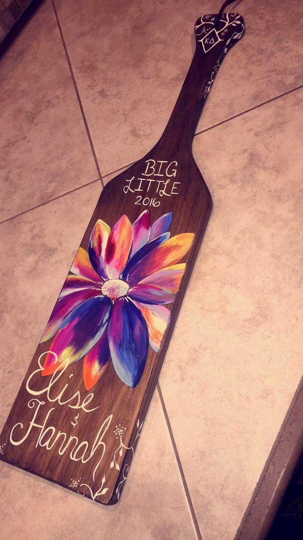 Big/Little Paddle; Kappa Delta