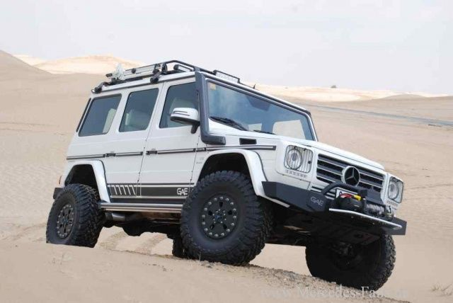 Es lebe die Gevolution! Mercedes G55 AMG wird in die Wüste geschickt: Heavy Duty Mercedes G-Klasse Umbau von German Automotive Engineering (GAE) - Auto der Woche - Mercedes-Fans - Das Magazin für Mercedes-Benz-Enthusiasten