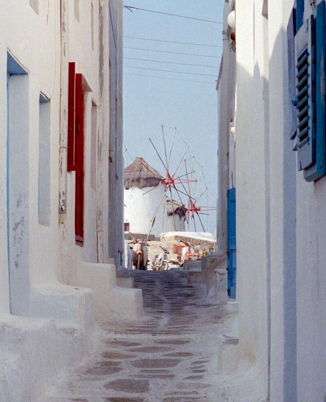 VISIT GREECE| Windmills of Mykonos - Mykonos, Cyclades