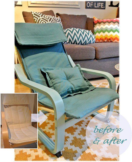 13 besten upcycling ikea poeng sessel bilder auf pinterest sessel einrichtung und po ng sessel. Black Bedroom Furniture Sets. Home Design Ideas
