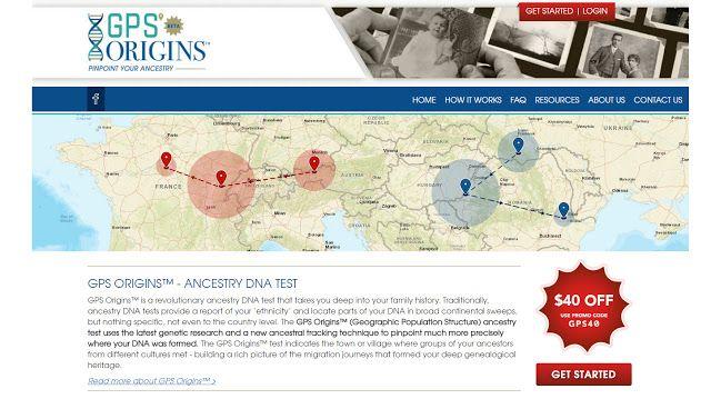 Cruwys news: The new GPS Origins test from DNA Diagnostics Cent...