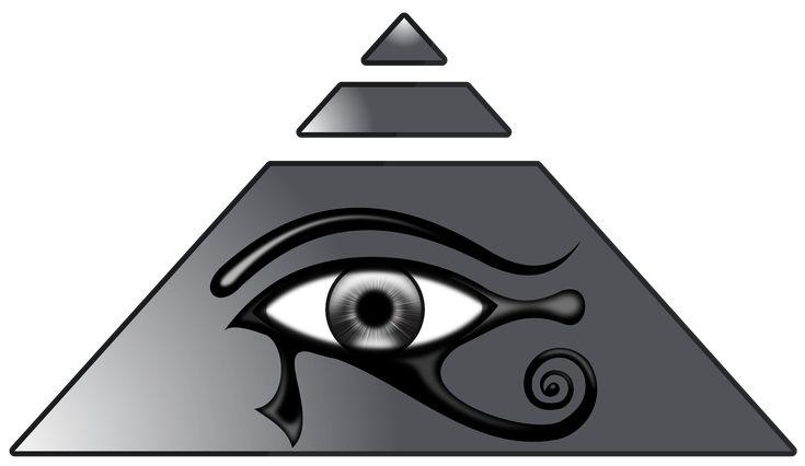 Piramide con el Ojo de Horus by deiby-ybied.deviantart.com on @DeviantArt