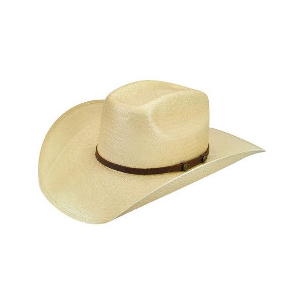 Men's Bailey Western Fender Straw Cowboy Hat - Toyo Tea Stained ($50) ❤ liked on Polyvore featuring men's fashion, men's accessories, men's hats, mens western straw hats, mens western hats, mens cowboy hats and mens straw hats