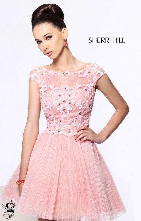 Mejores 67 imágenes de Short Sherri Hill Prom Dresses en Pinterest ...