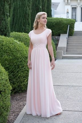 1000 images about modest prom dresses on pinterest for Modest wedding dresses seattle