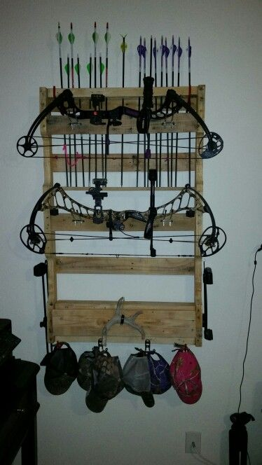 Best 25 Bow Rack Ideas On Pinterest Archery Hunting
