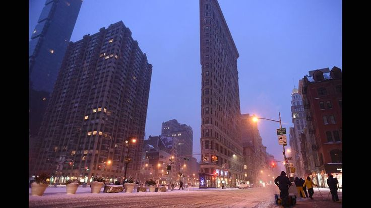 Got To Photo #109...notice the slender building...Winter Storm Stella Aims for the Northeast (PHOTOS)   The Weather Channel
