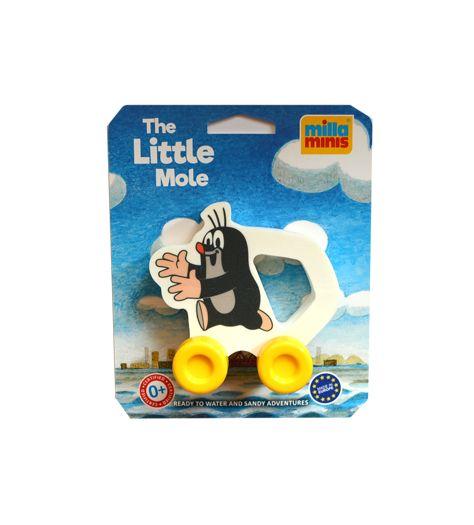 Kisvakondos tologató játék babáknak