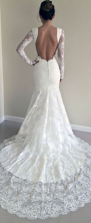33 Most Glamorous Wedding Dresses For 2017 Gowns Pinterest Dress Weddings And Lace