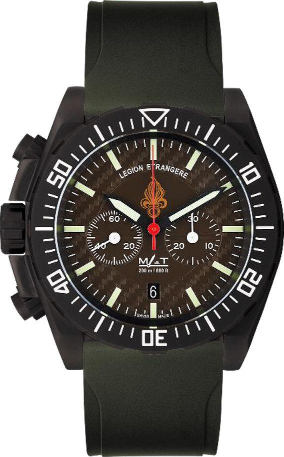 La Cote des Montres : Matwatches renforce son Partenariat avec La Légion Étrangère avec la montre État-Major Légion XL et le Chrono Légion Tactique