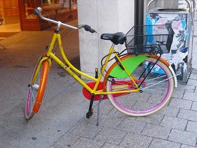 Bunt! Bunt! Bunt! #Münster #Fahrrad