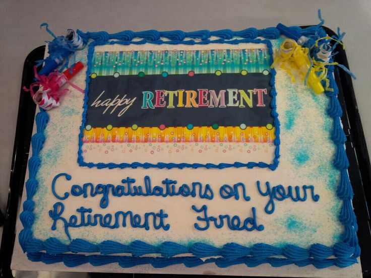 Fred, one of our sales reps retired this last week , feb 2014- we obviously had to have cake! Best wishes Fred!