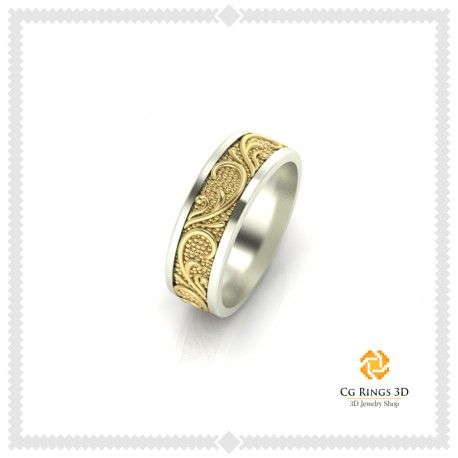 3D Wedding Ring