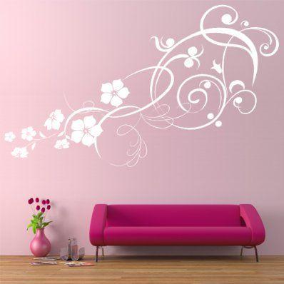 Stickers fleurs et arabesques. 32€ fdpi sur Stickers Folies