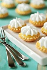 Mini Lemon Meringue Pies (I might alter this using Lilikoi Curd I brought back from Hawaii