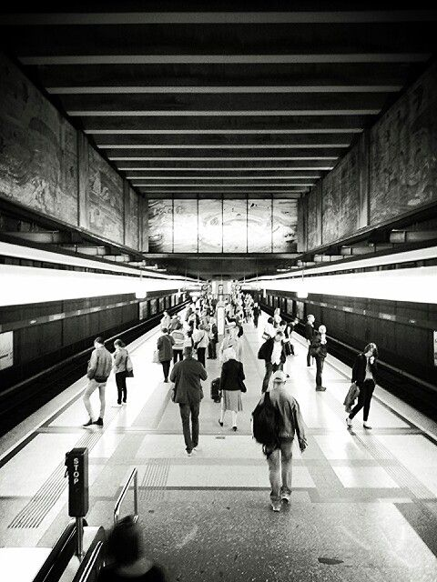 Kunst U-bahn. Art of underground. One of my fav topic is #urban photogtaphy.
