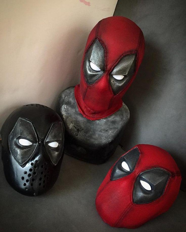 Deadpool film-style mask made for me by @el_fett https://www.instagram.com/el_fett/