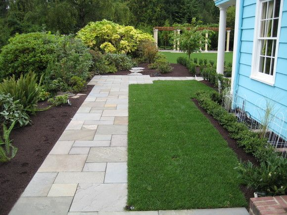 Landscaping Ideas East : An idea for my east sideyard landscaping ideas