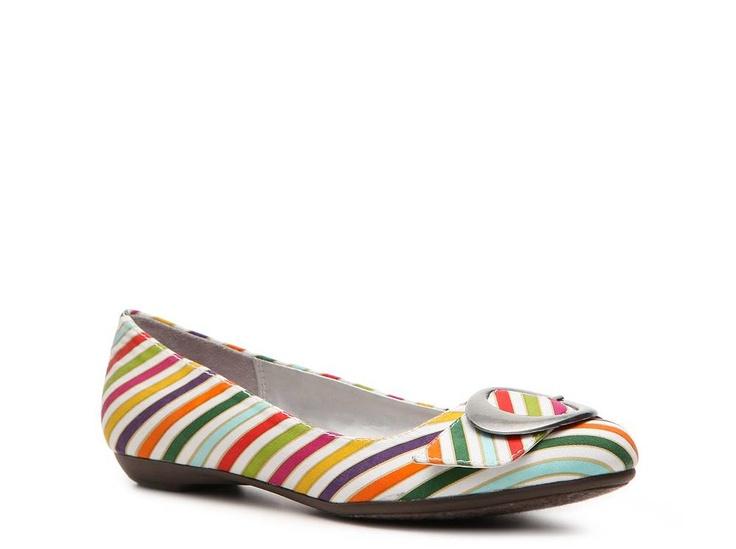 Dr. Scholl's Habit Stripe Flat Casual Women's Shoes - DSW