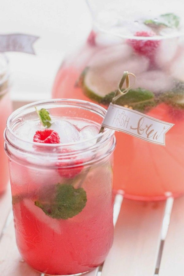 Raspberry Mojito | from The Sweetest Occassion @cydconverse