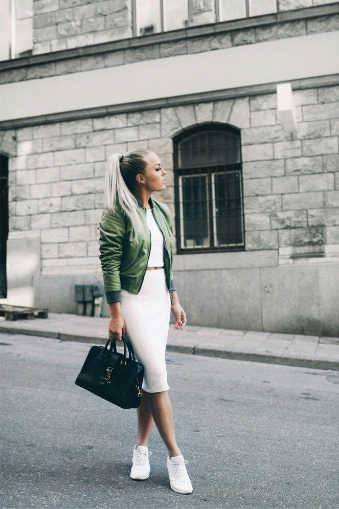 awesome Женская куртка бомбер (50 фото) — С чем носить? Стильные идеи