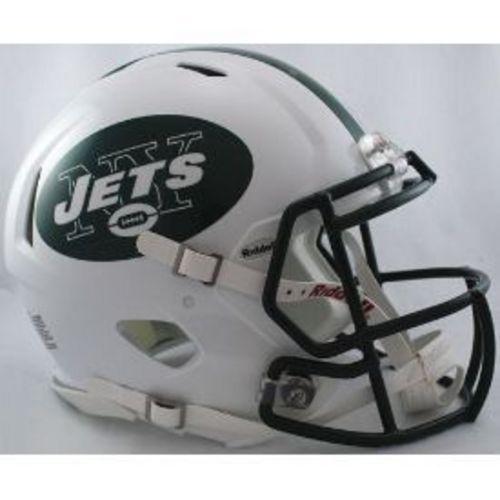 New York Jets Authentic Speed Riddell Full Size Helmet