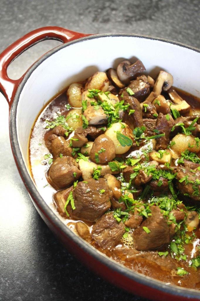Julia Child's Lamb Stew