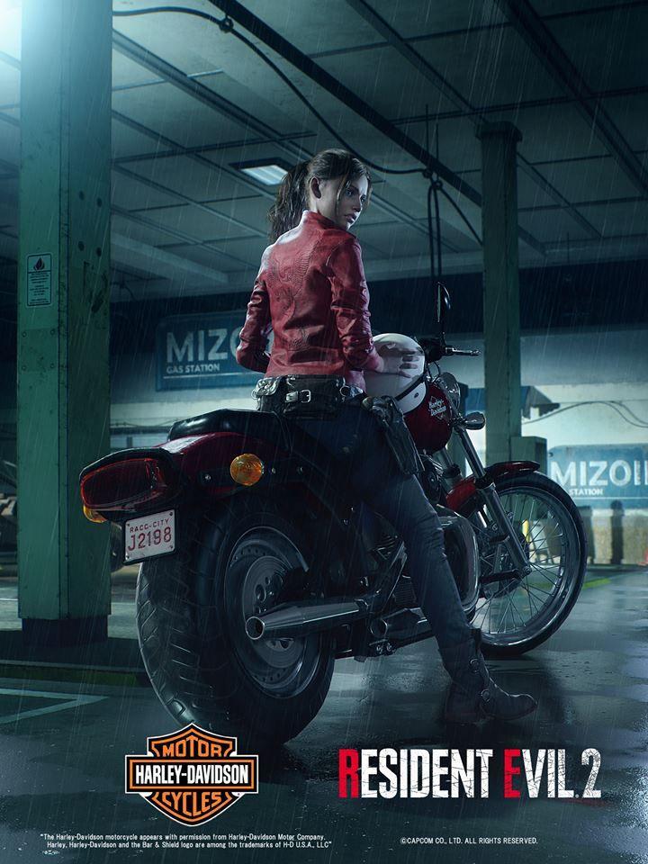 Claire Redfield Resident Evil 2 Remake Resident Evil Girl