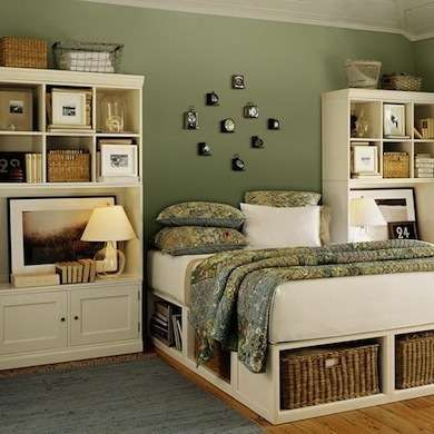 10 best images about bedroom storage ideas on pinterest for Rooms under the garden