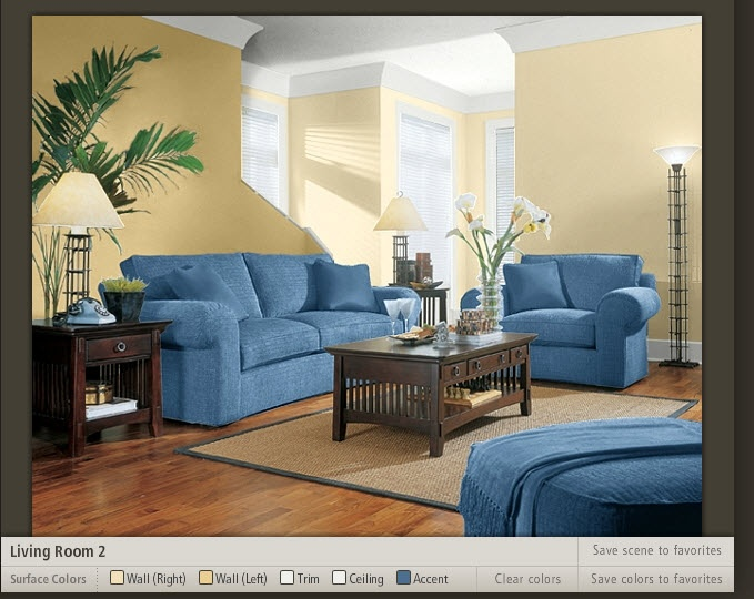 This Is From The Sherwin Williams Color Picker Using