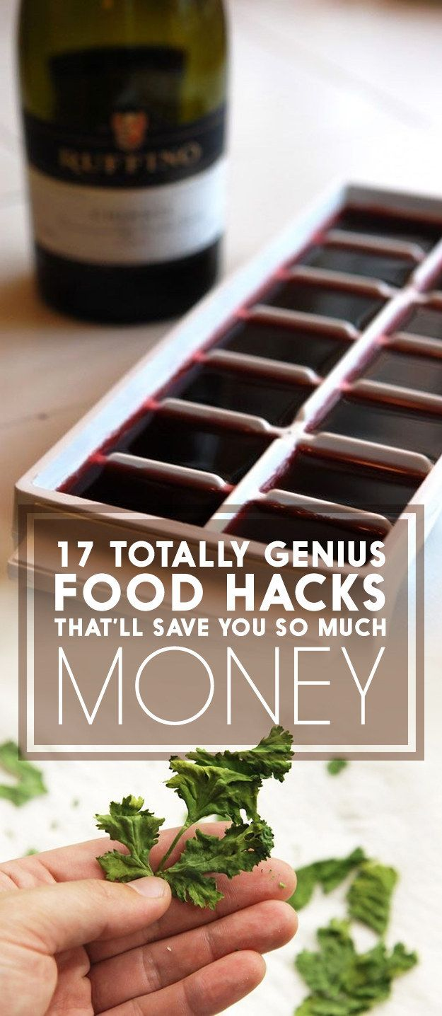17 Genius Food Hacks That'll Save You So Much Money
