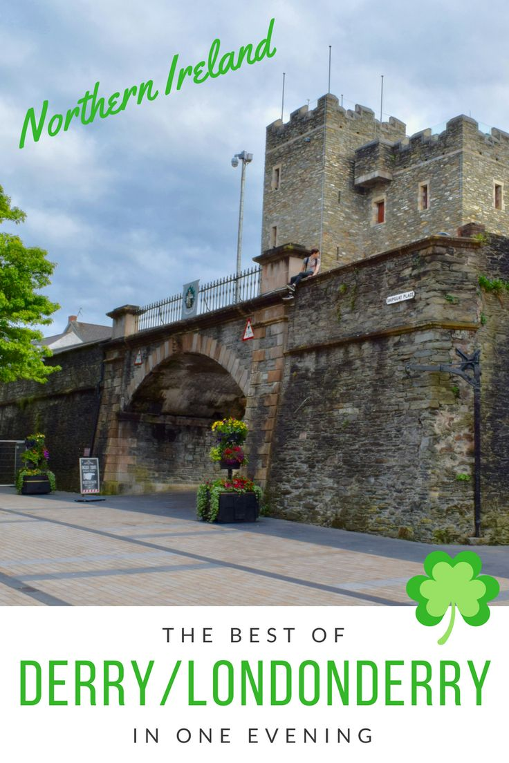 Visit Londonderry (or Derry) in Northern Ireland, United Kingdom. A city which is brimming with history, both old and recent...